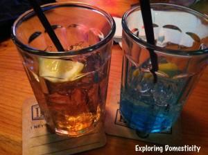 Long Island and Alaskan Ice Tea