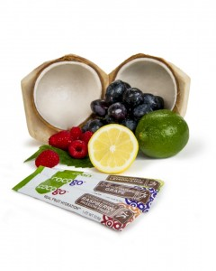 Cocogo with real fruit and coconut water