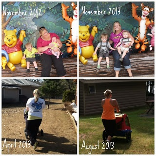 Weight loss progress after two kids in under two years