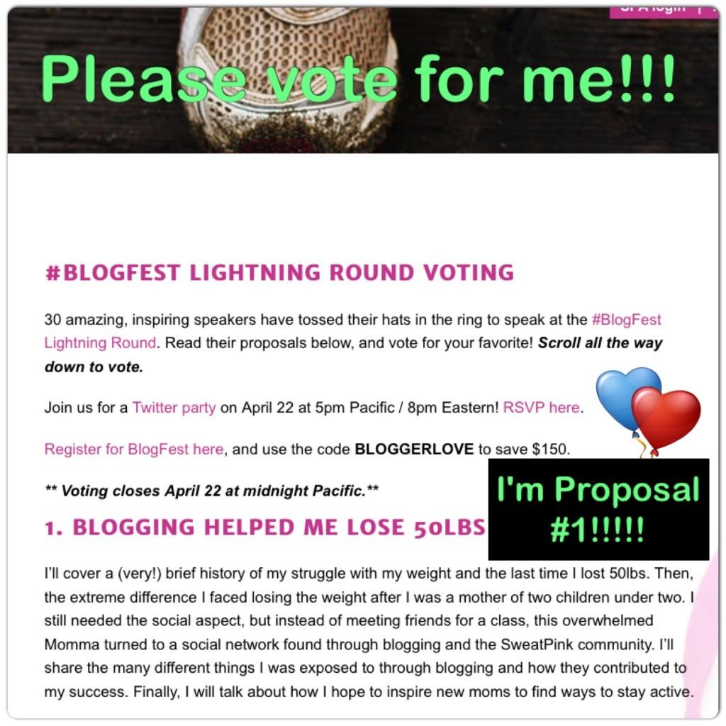 BlogFest Lightning Round