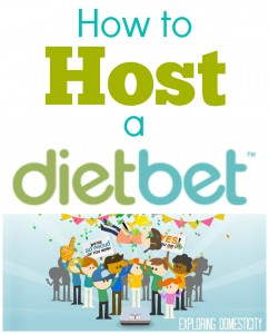How to Host a Dietbet