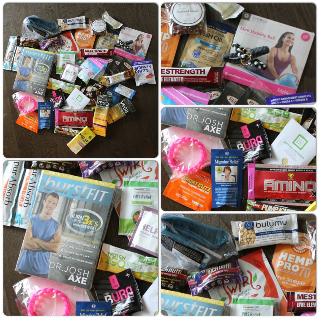 Health and fitness goodie bag giveaway