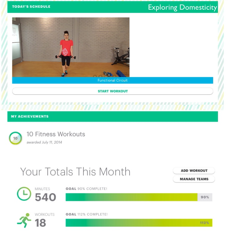 M5 fitness goal tracking