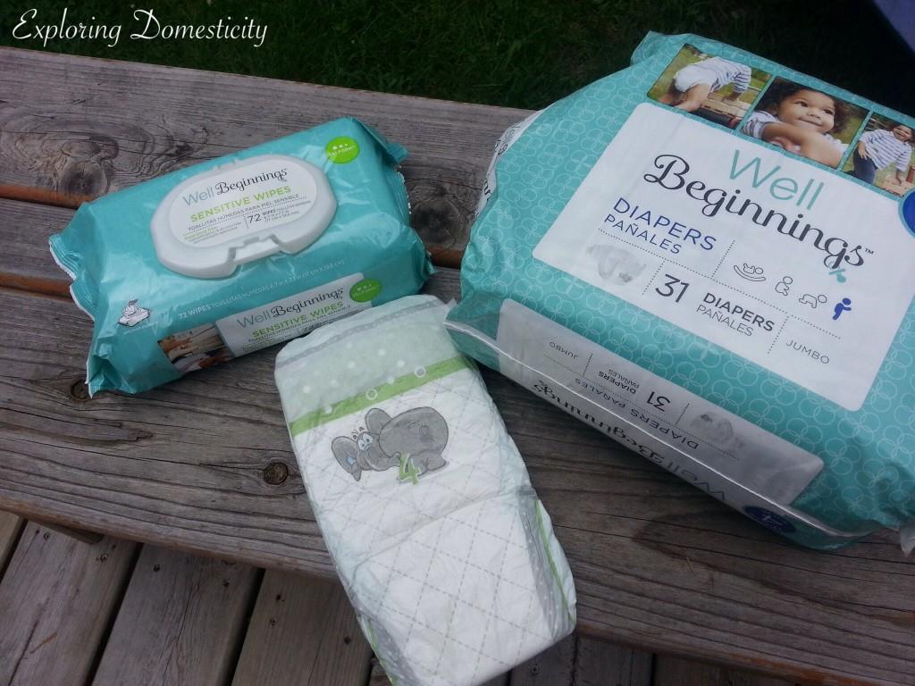 Walgreens Well Beginnings Diaper Review