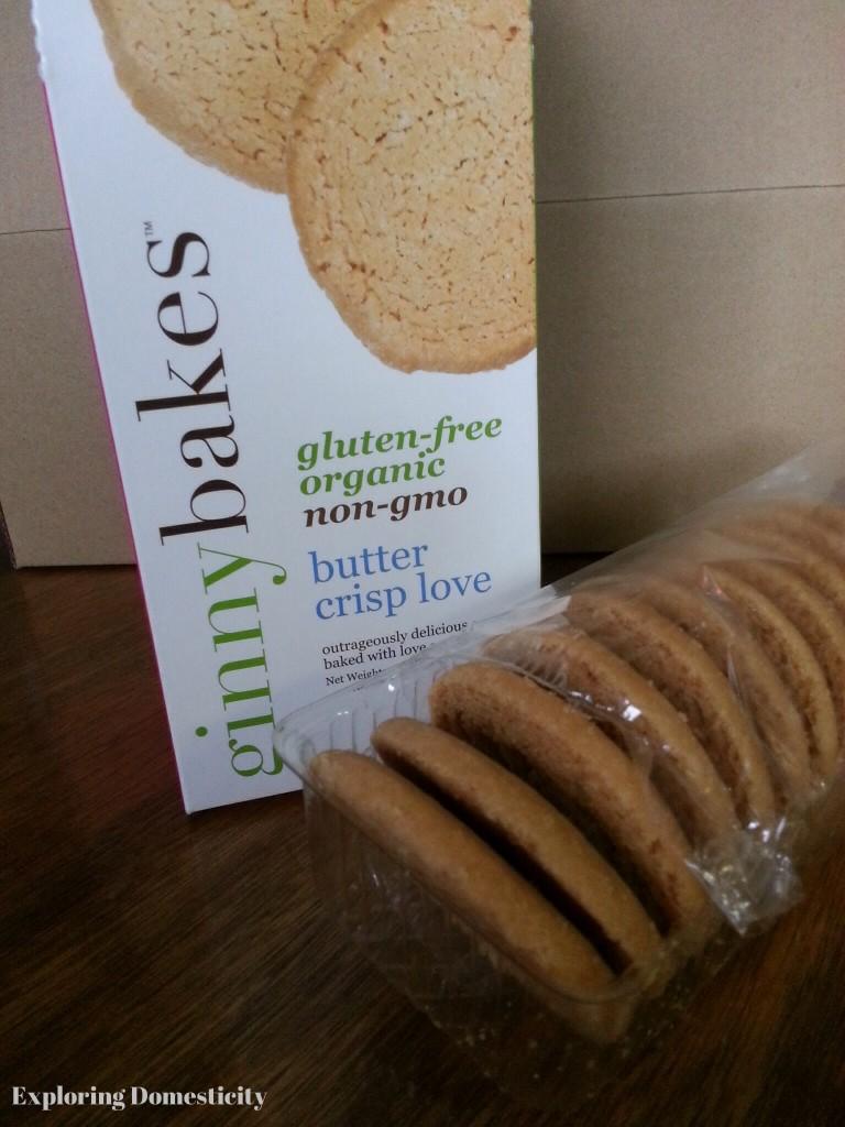 Ginny Baka butter crisp love cookies