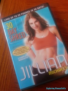 Jillian Michaels 30 Day Shred Tips
