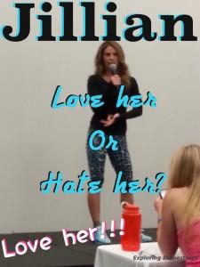 Jillian Michaels: love her or hate her? -- Love her!