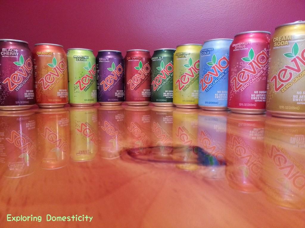 Zevia no calorie, no artificial sweeteners soda