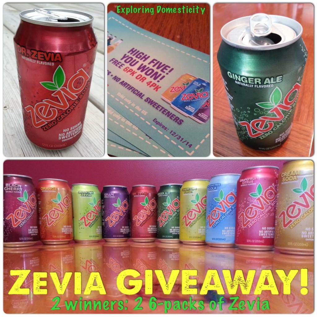 Zevia Soda Giveaway