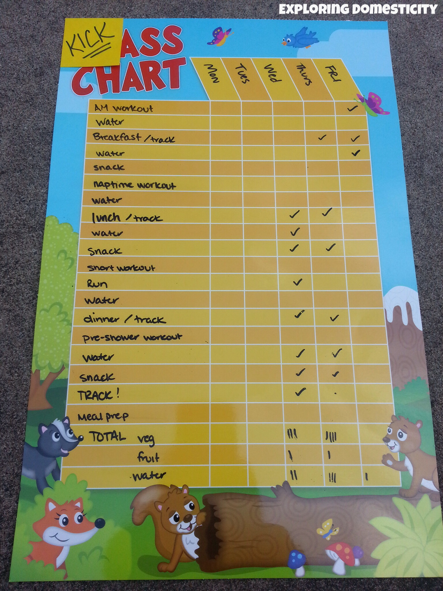Dollar store chart for tracking fitness archives exploring charting weight loss and fitness goals nvjuhfo Choice Image