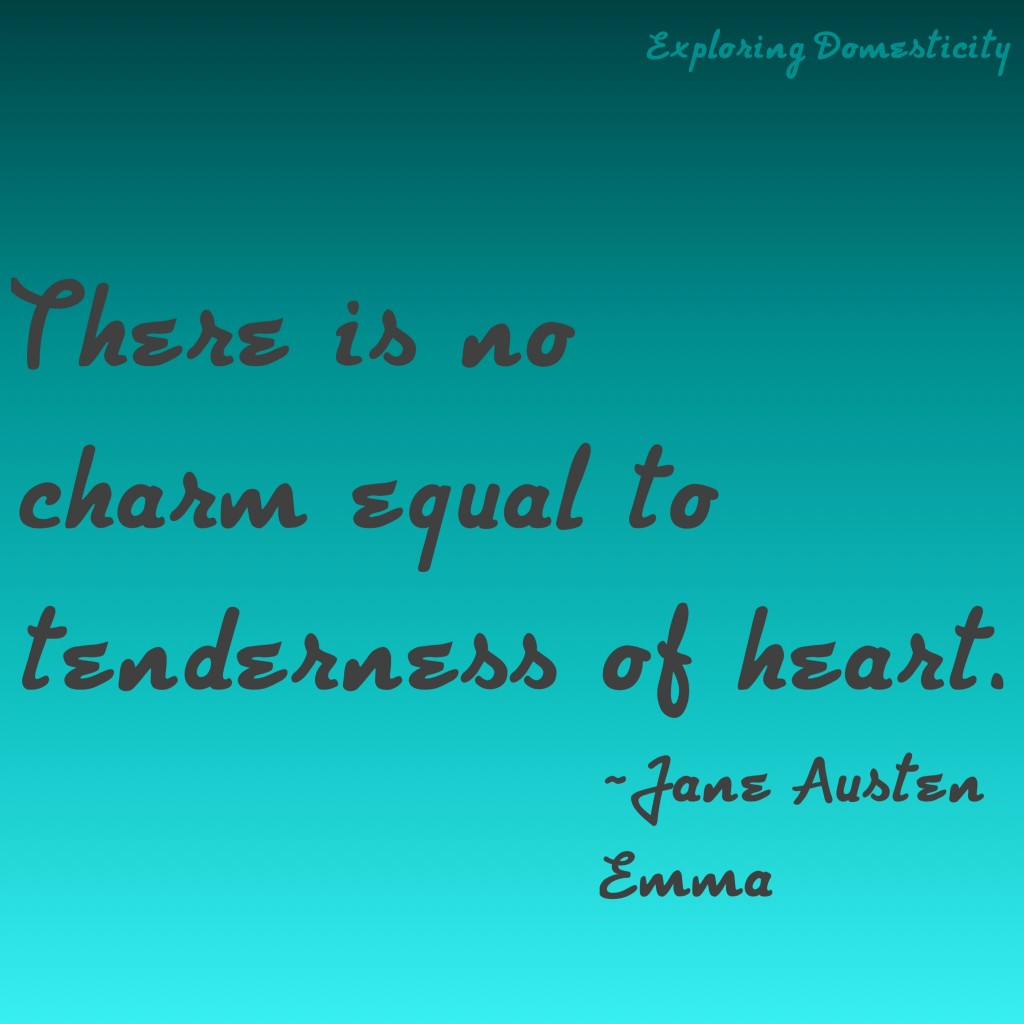 Jane Austen Words of Wisdom: charm {a page full of Jane Austen Quotes}