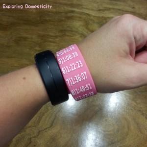Half Marathon Pink Paceband
