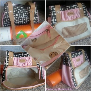 Fivesse awesome gym bag and perfect for yoga