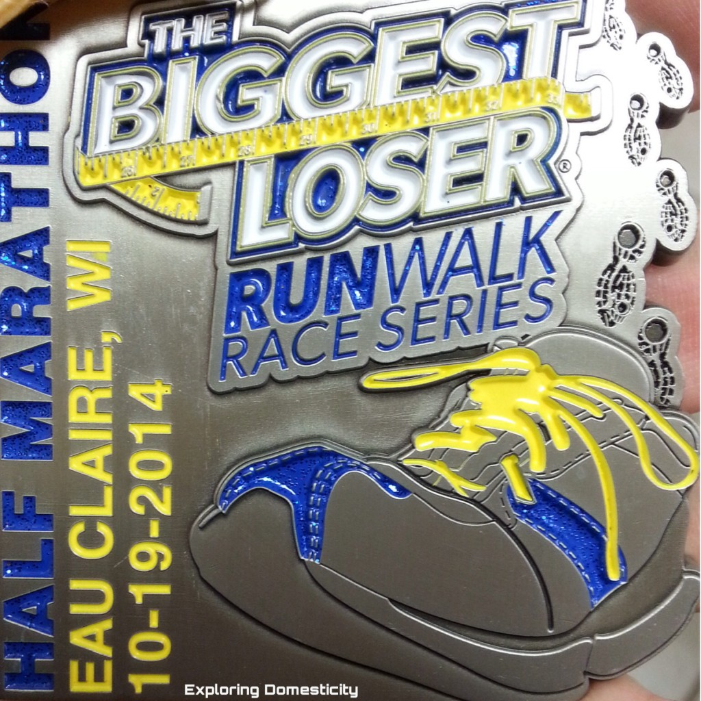 Biggest Loser Run/Walk medal