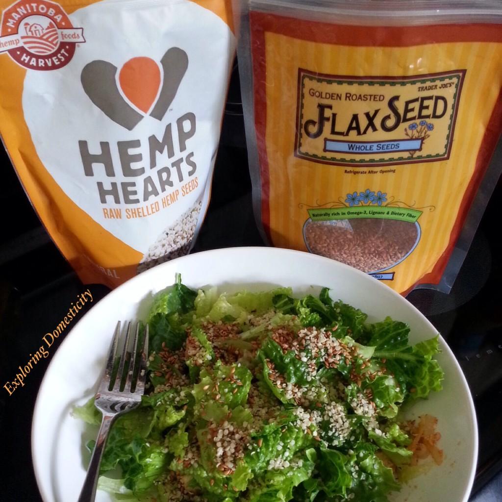 Salad Toppings: Manitoba Hemp Hearts