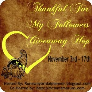 Thankful for my Followers a Giveaway Hop