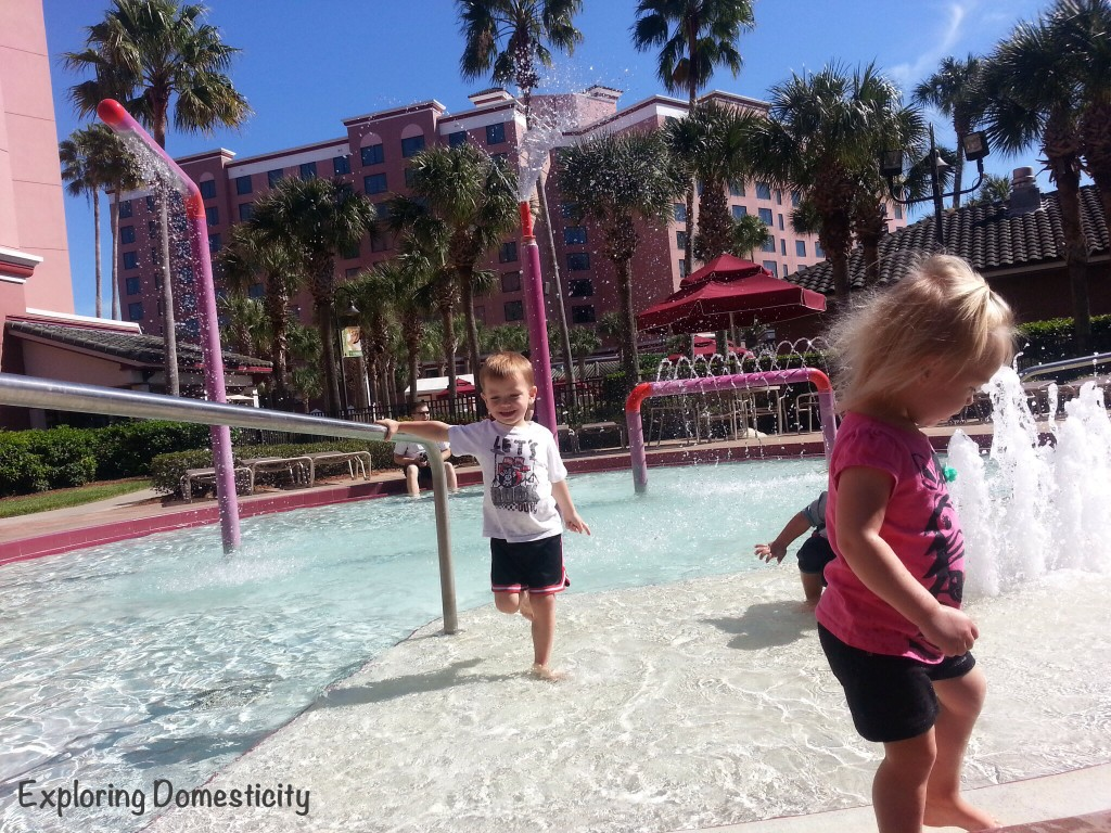 Caribe Royale kiddie pool - WOw Summit 2014