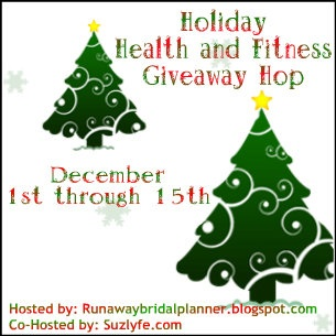 Holiday health and fitness giveaway hop