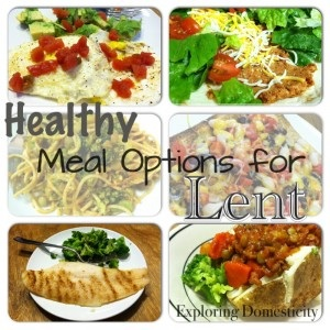 Healthy Meal Options for Lent