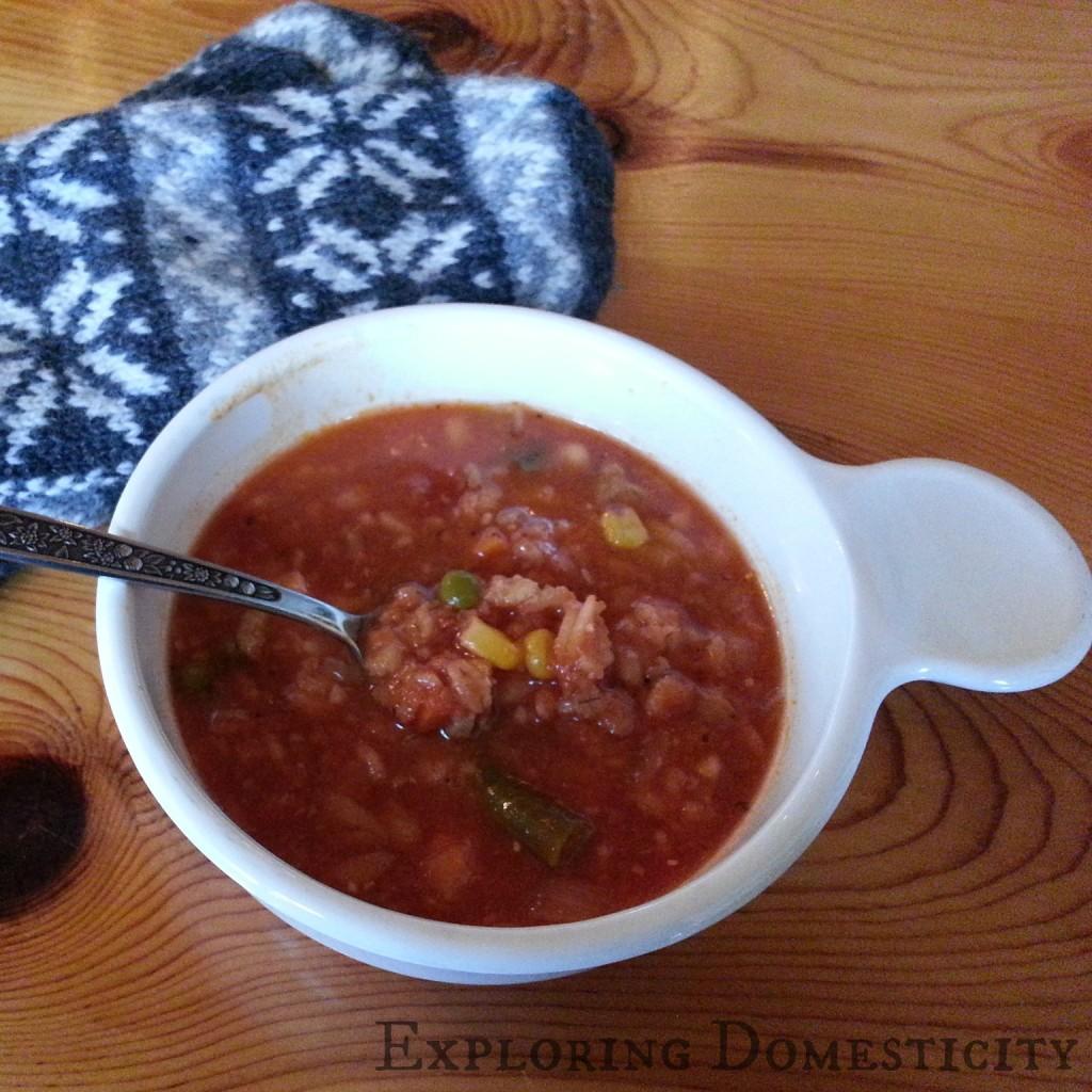 turkey veggie barley soup