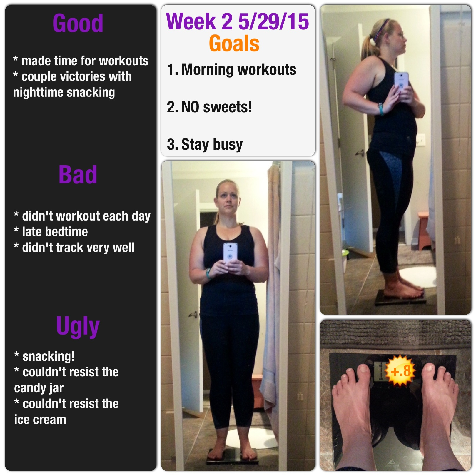 My Day Friday a Accountability Check-in: week 2