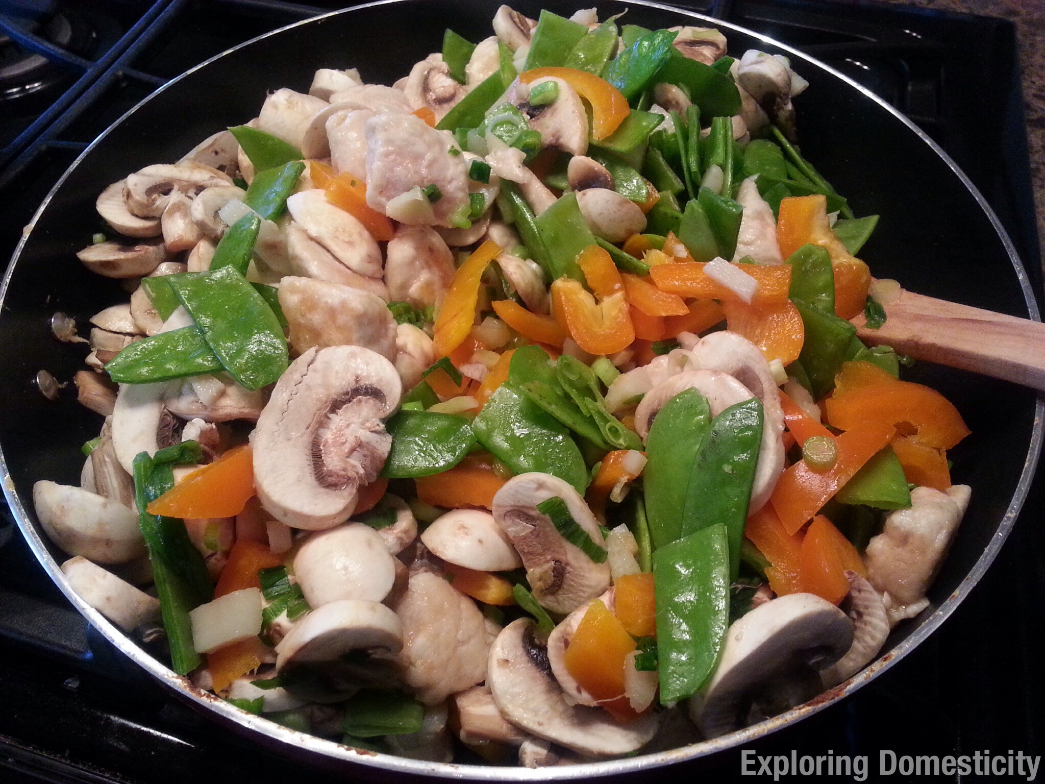 Weight Watcher Moo Goo Gai Pan