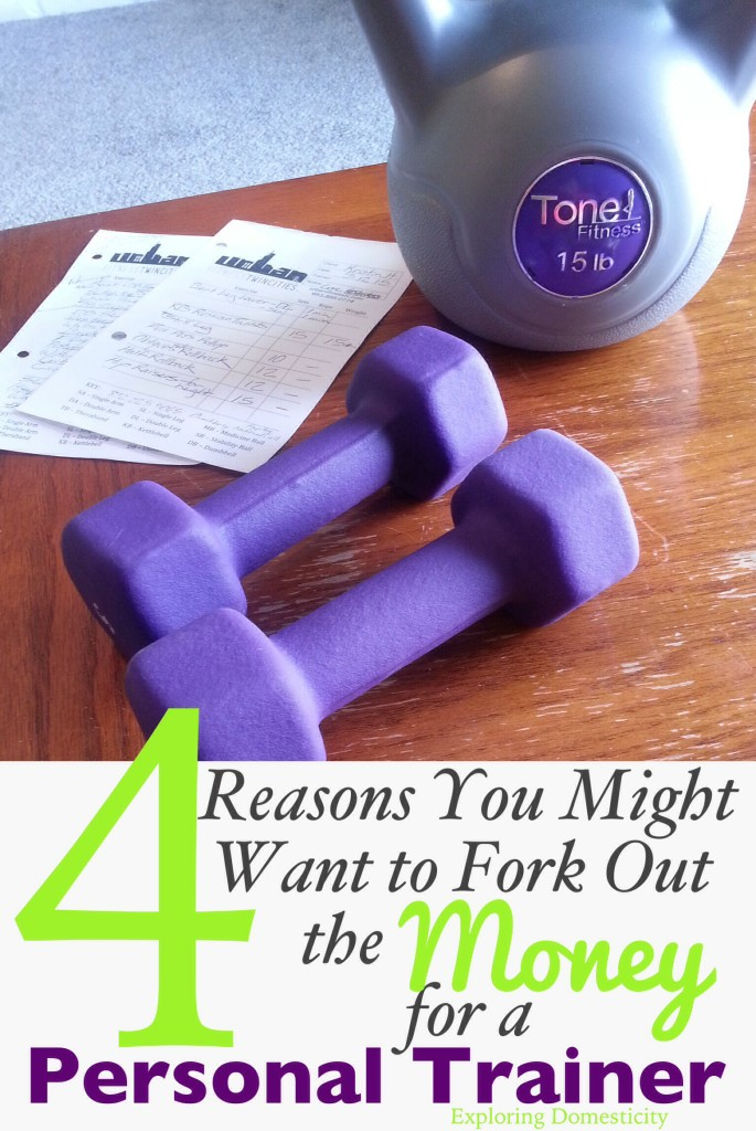 4 reasons you may want to fork out the money for a personal trainer