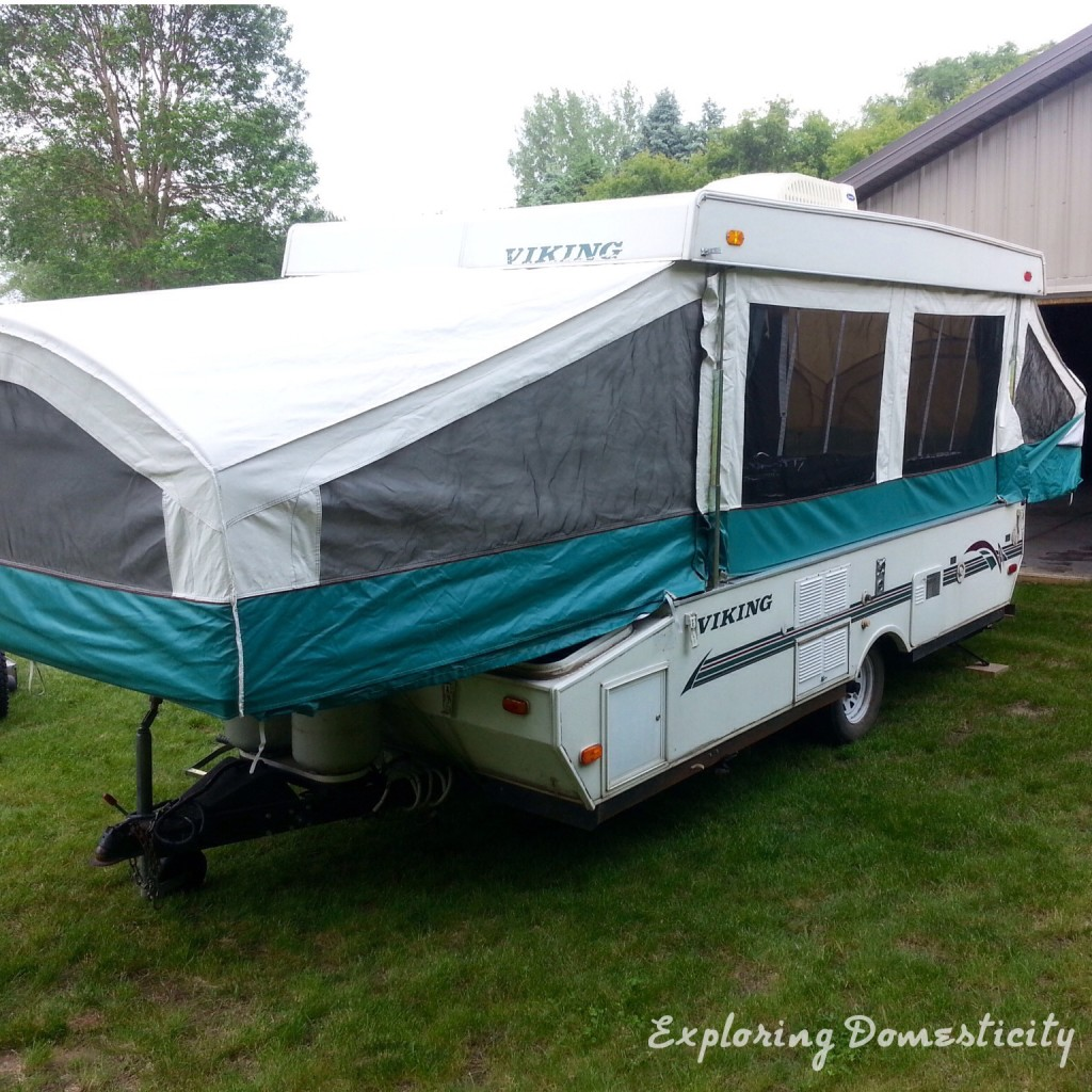 1999 Viking Pop Up Camper Remodel