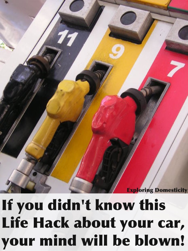 How to find our which side your gas tank is on
