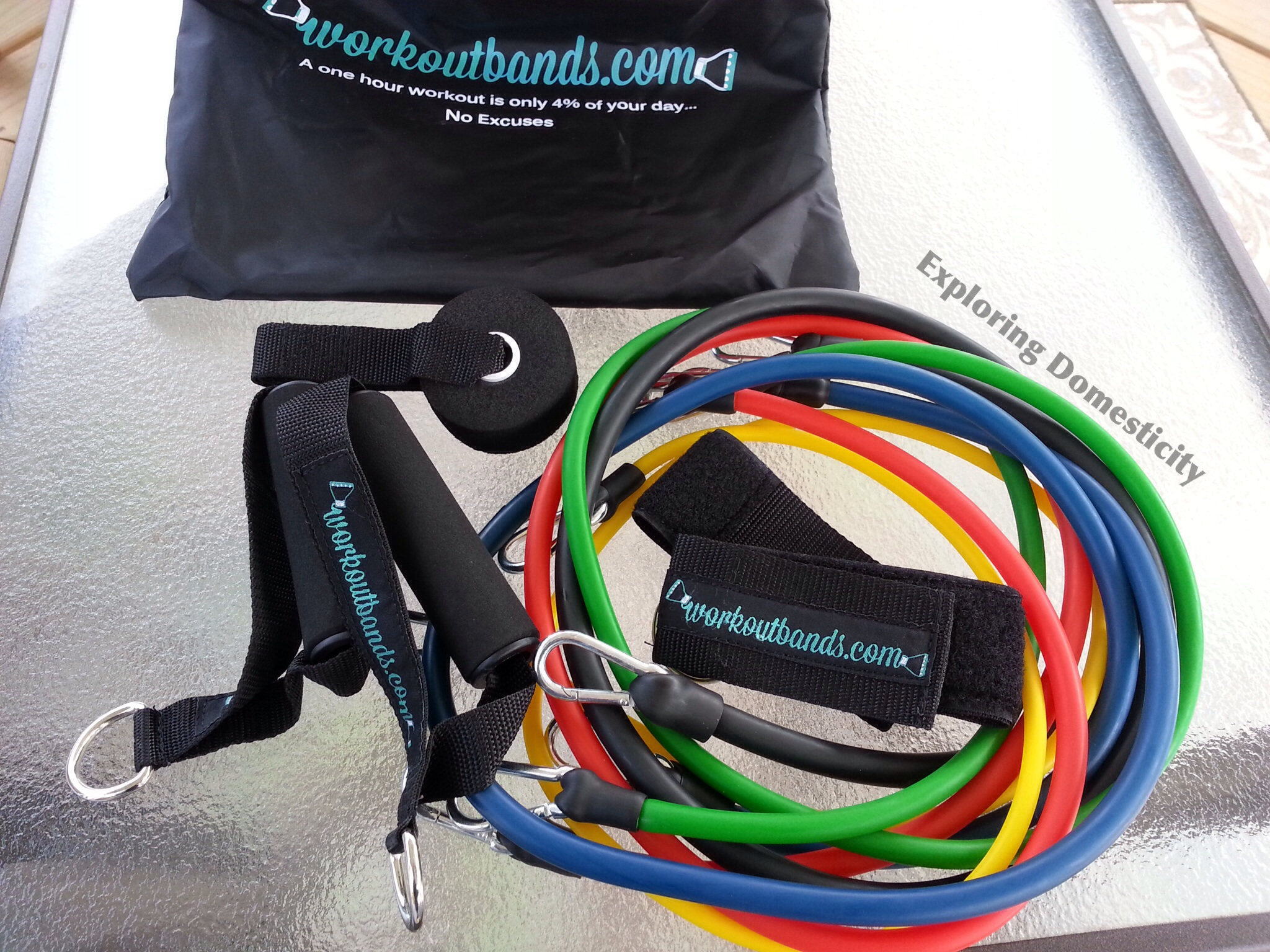 Best workouts and equipment for summer travel - resistance bands