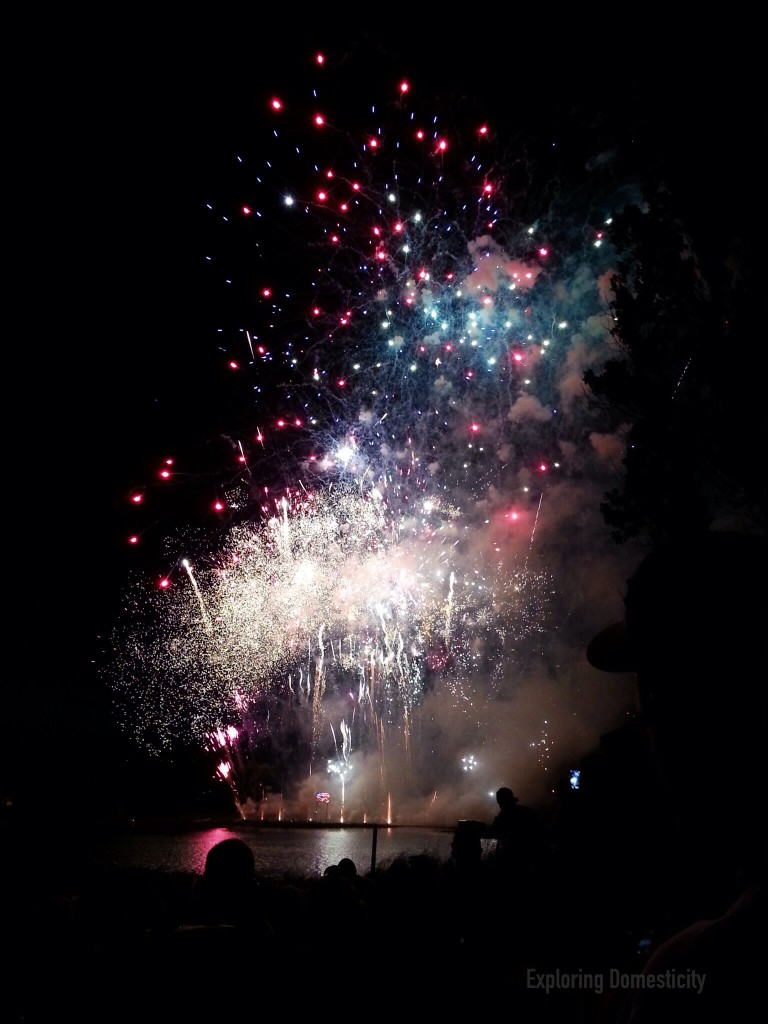 Grantsburg Watercross Fireworks