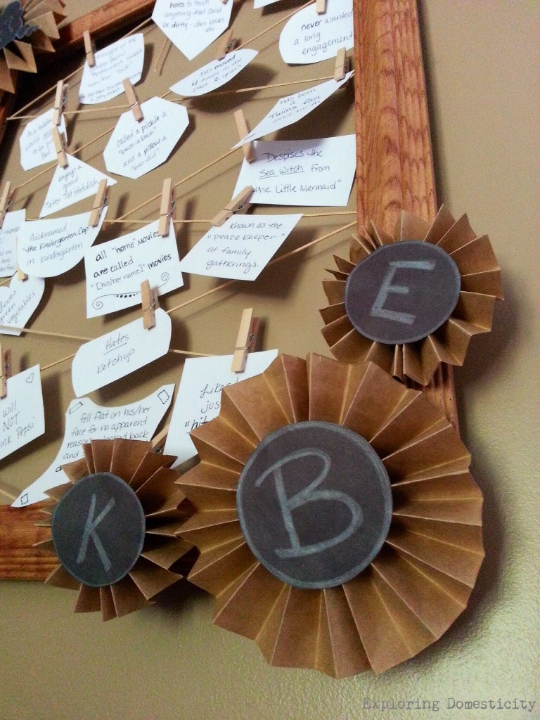 Using an old mirror to make a great keepsake, photo holder, decor, or even wedding shower game