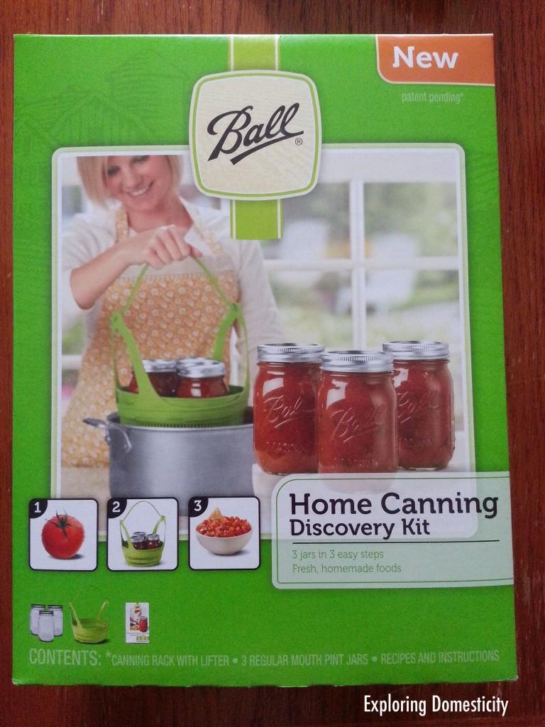 Ball Home Canning Kit #CanItForward