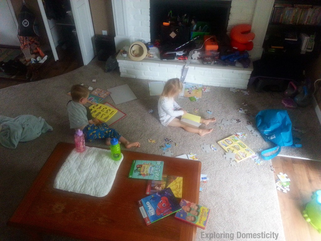 Ramblings from a stressed-out WAHM while potty training