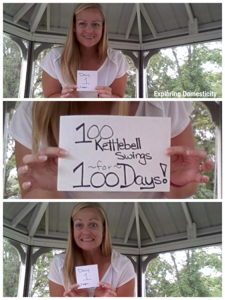 100 kettlebell swings for 100 days: day 1