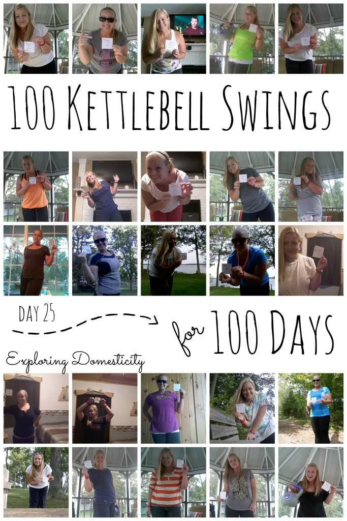100 Kettlebell Swings for 100 Days: Day 25
