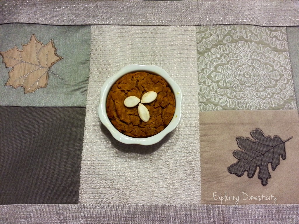 Pumpkin Sweet Potato Mini Cake - cake for breakfast!