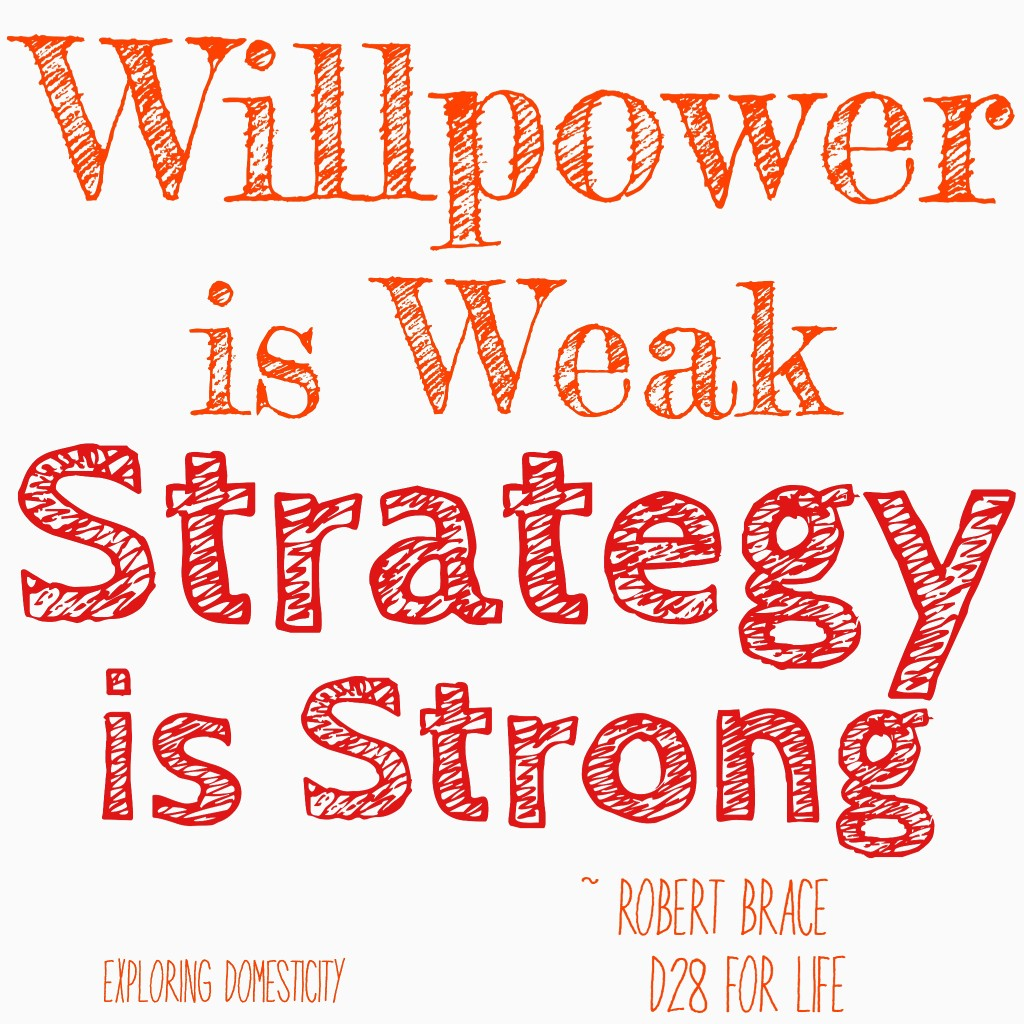 Willpower is Weak, Strategies are Strong: Strategies for Weight Loss from D28 For Life