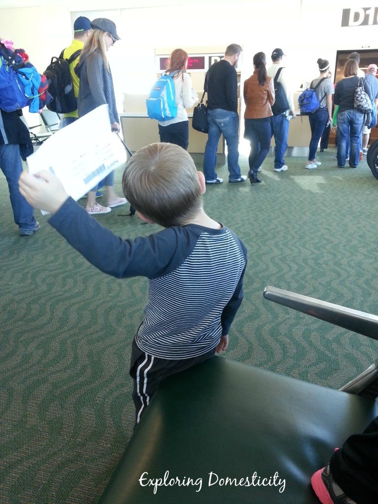 tips for flying with young children