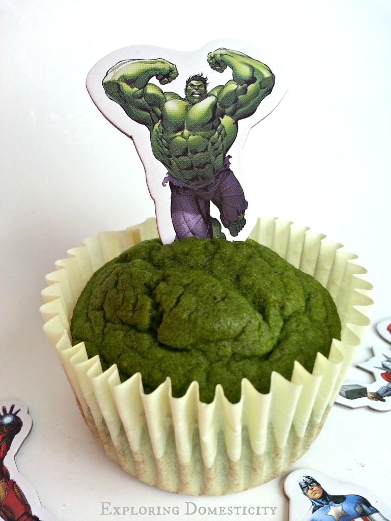 Green Hulk Muffins