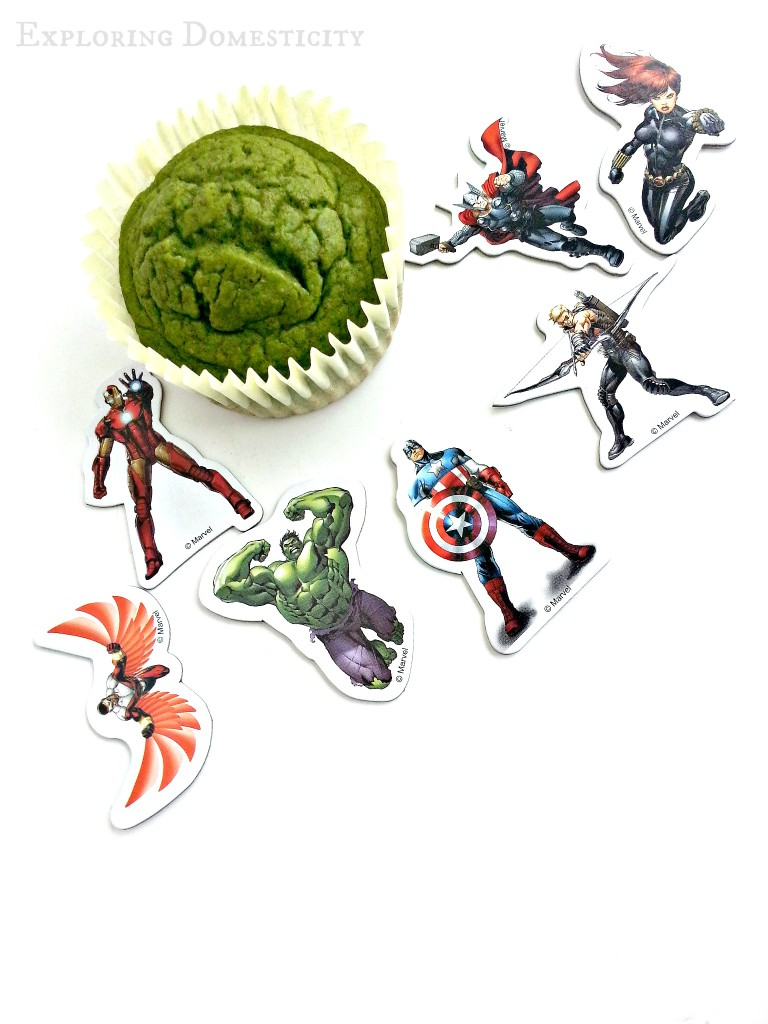 Marvel Avengers Hulk Muffins