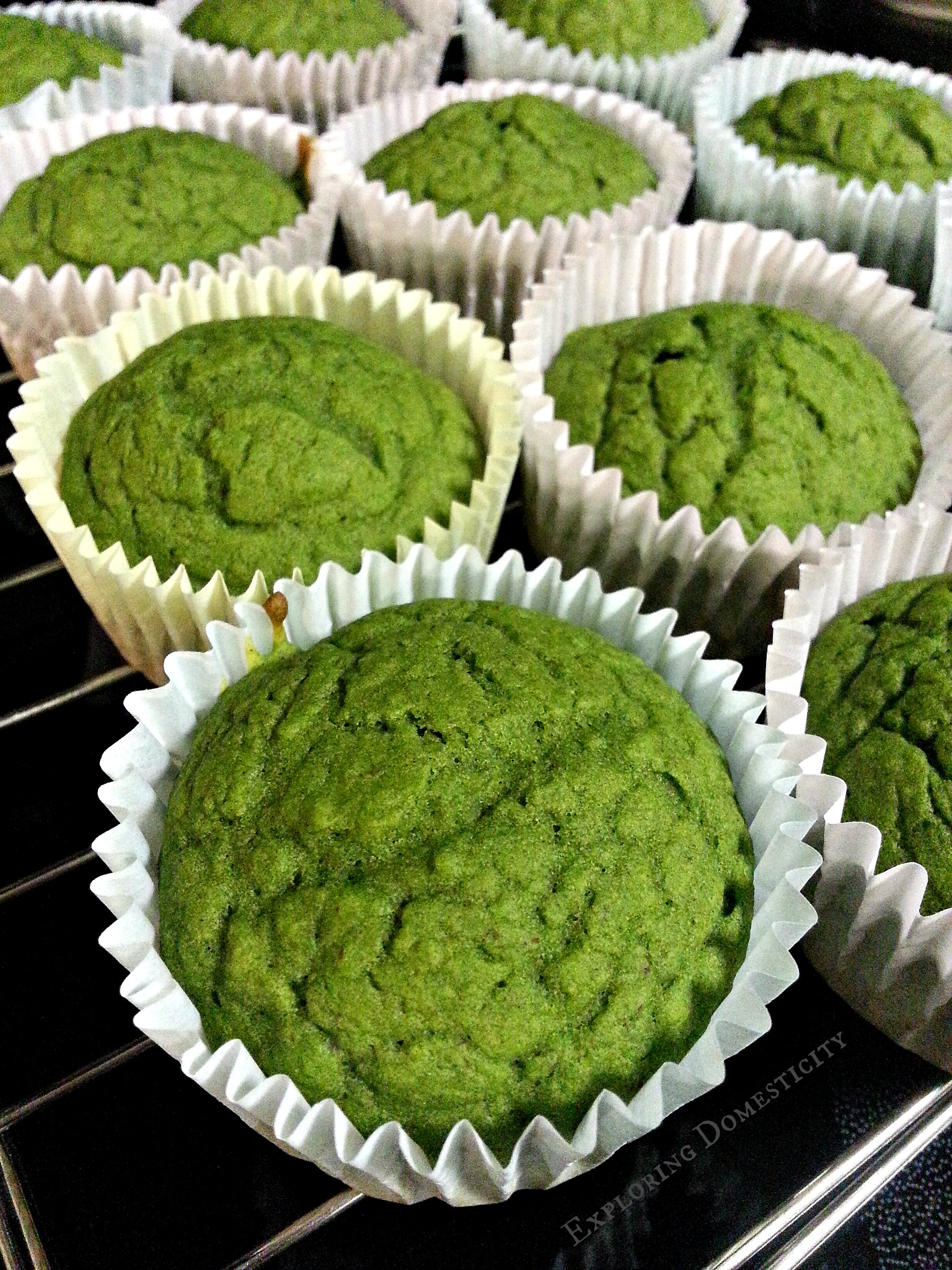 Healthy Spinach Hulk Muffins ⋆ Exploring Domesticity