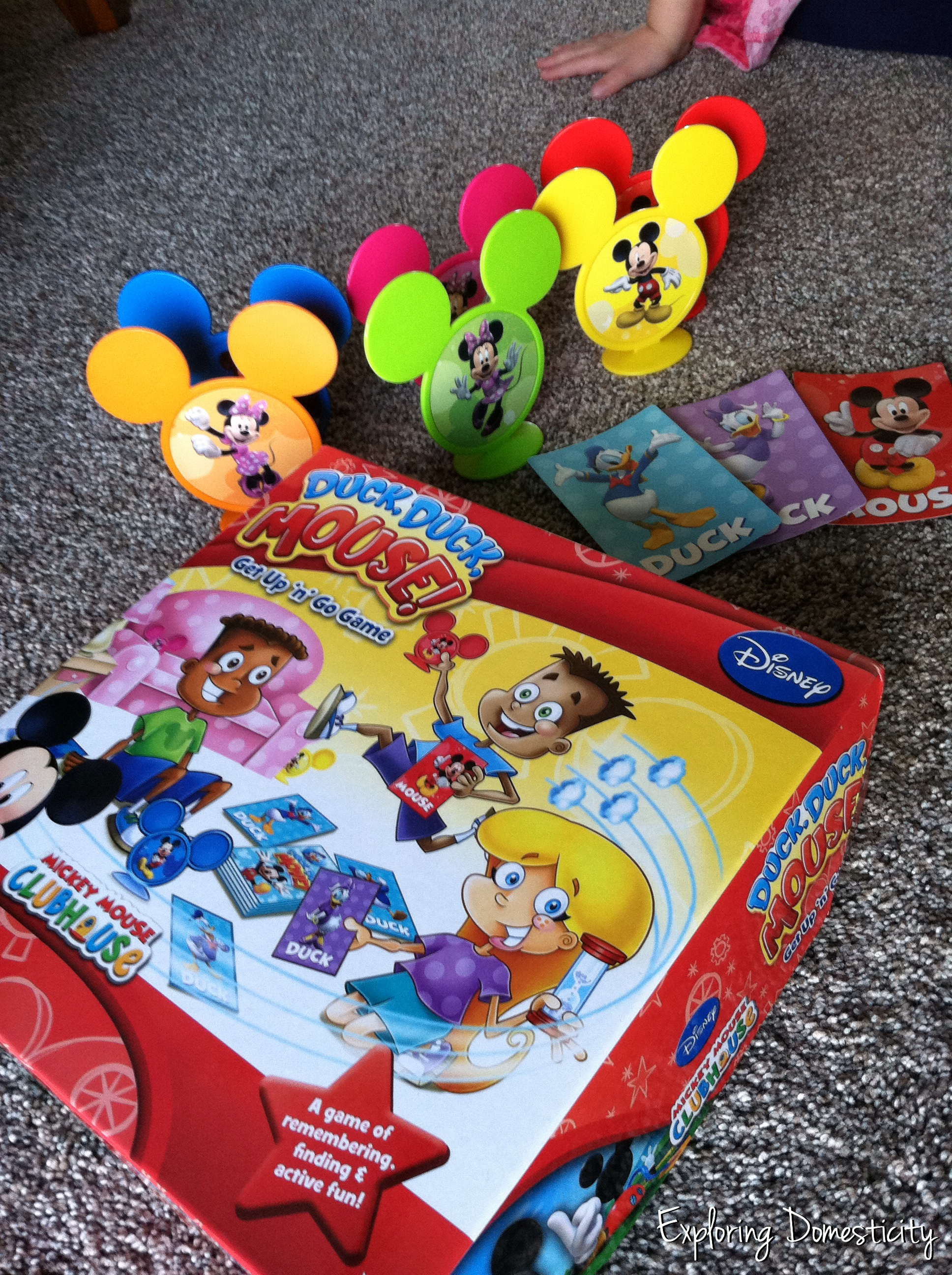 Duck duck mouse, and more ways to stay active with kids when stuck inside