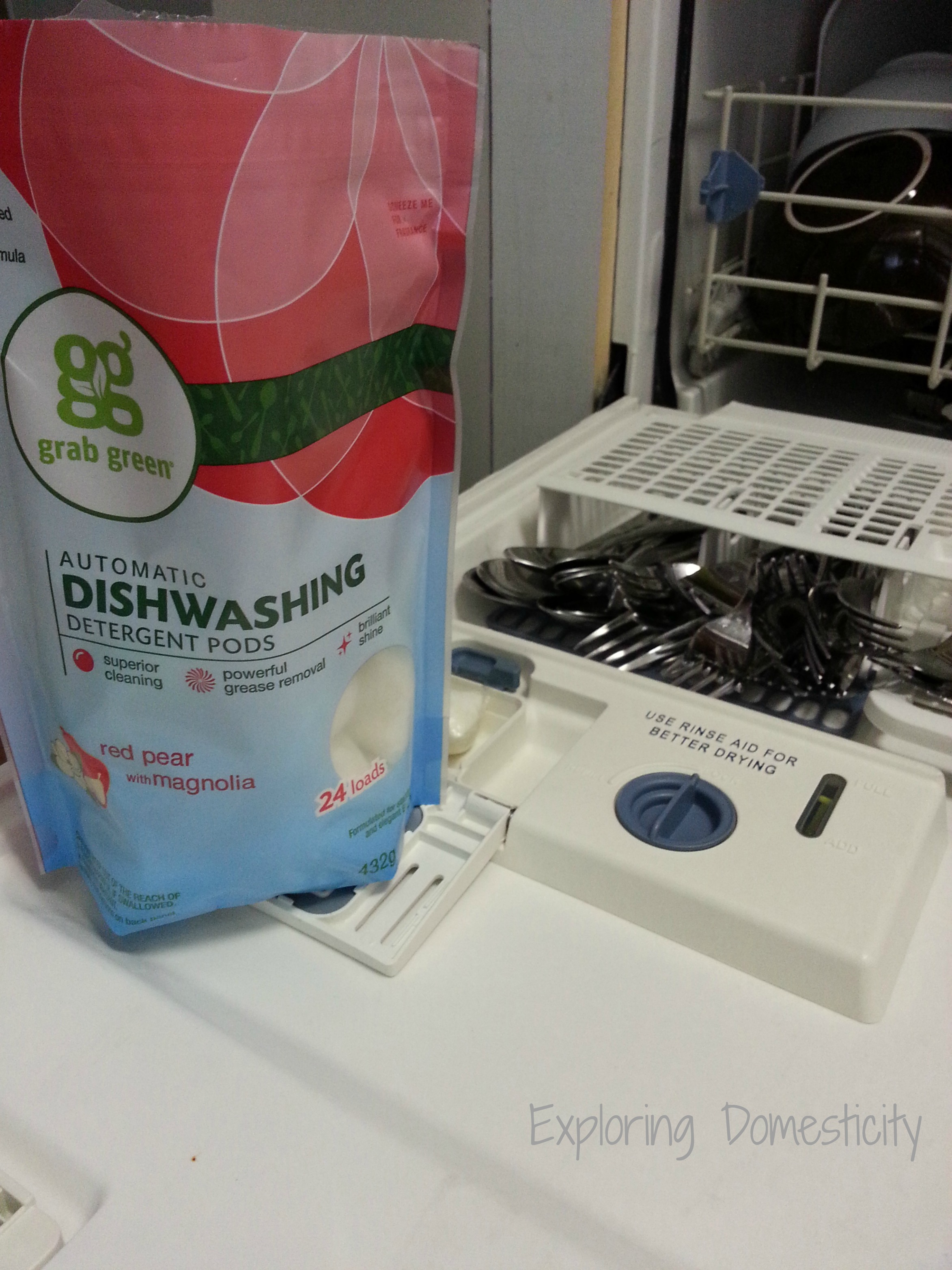 Non Toxic Laundry And Dish Pods From Grabgreen And