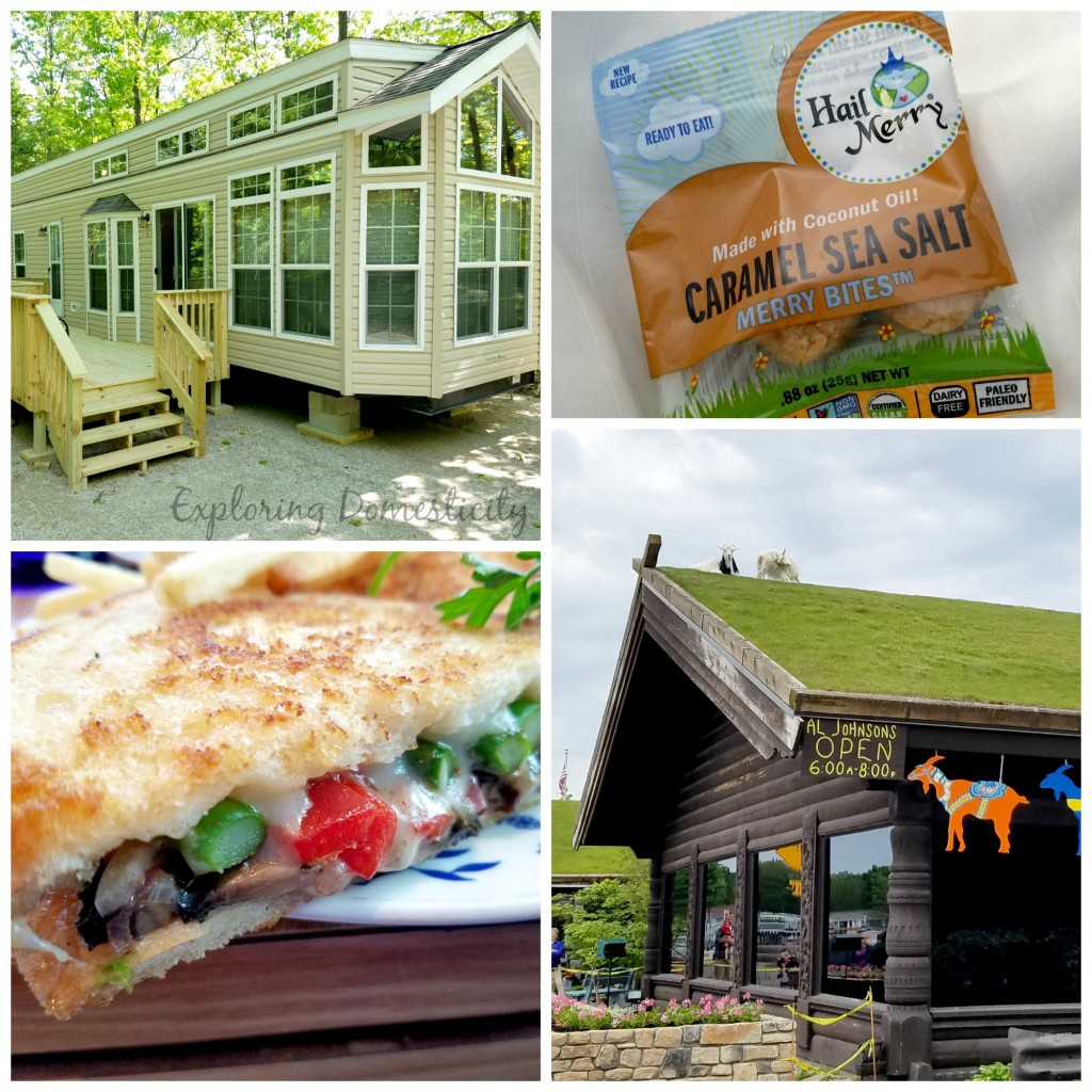 Door County Wisconsin: Rustic Timbers campground and Al Johnsons