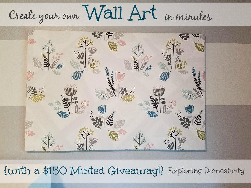 Create your own wall art in minutes
