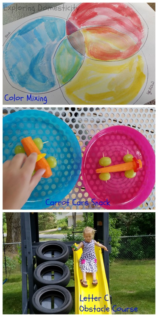 ABCs of Summer Letter C Activities for Kids