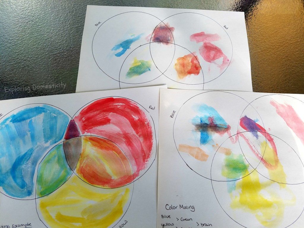Color Mixing for kids