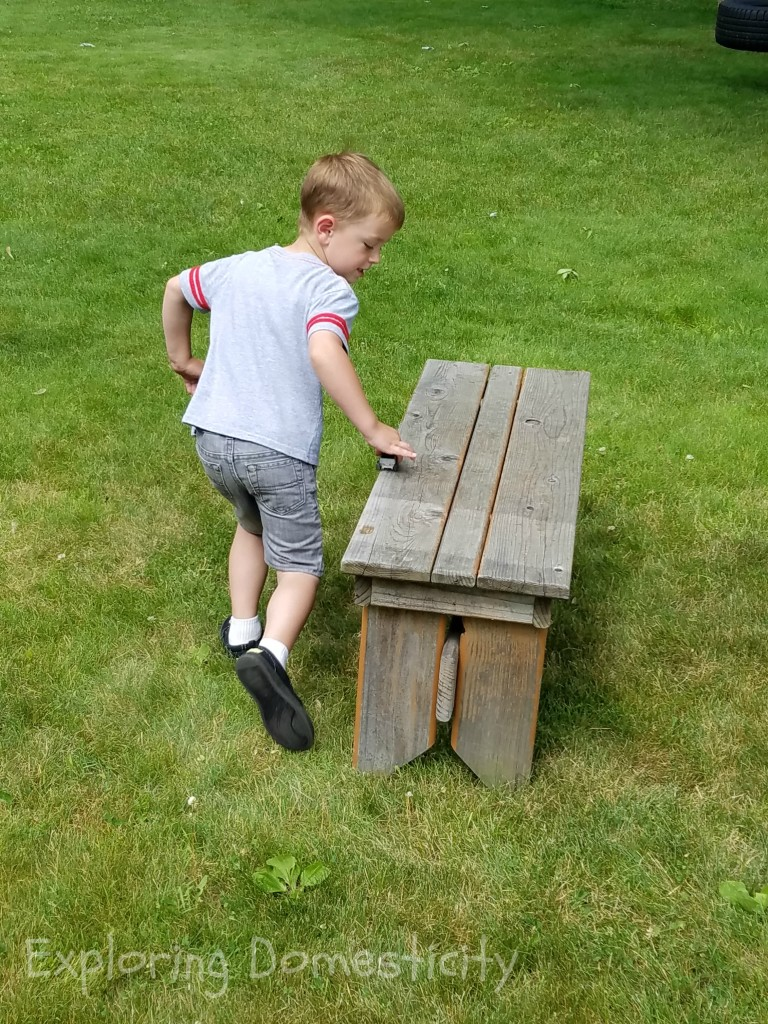 ABCs of Summer: Letter C Obstacle Course