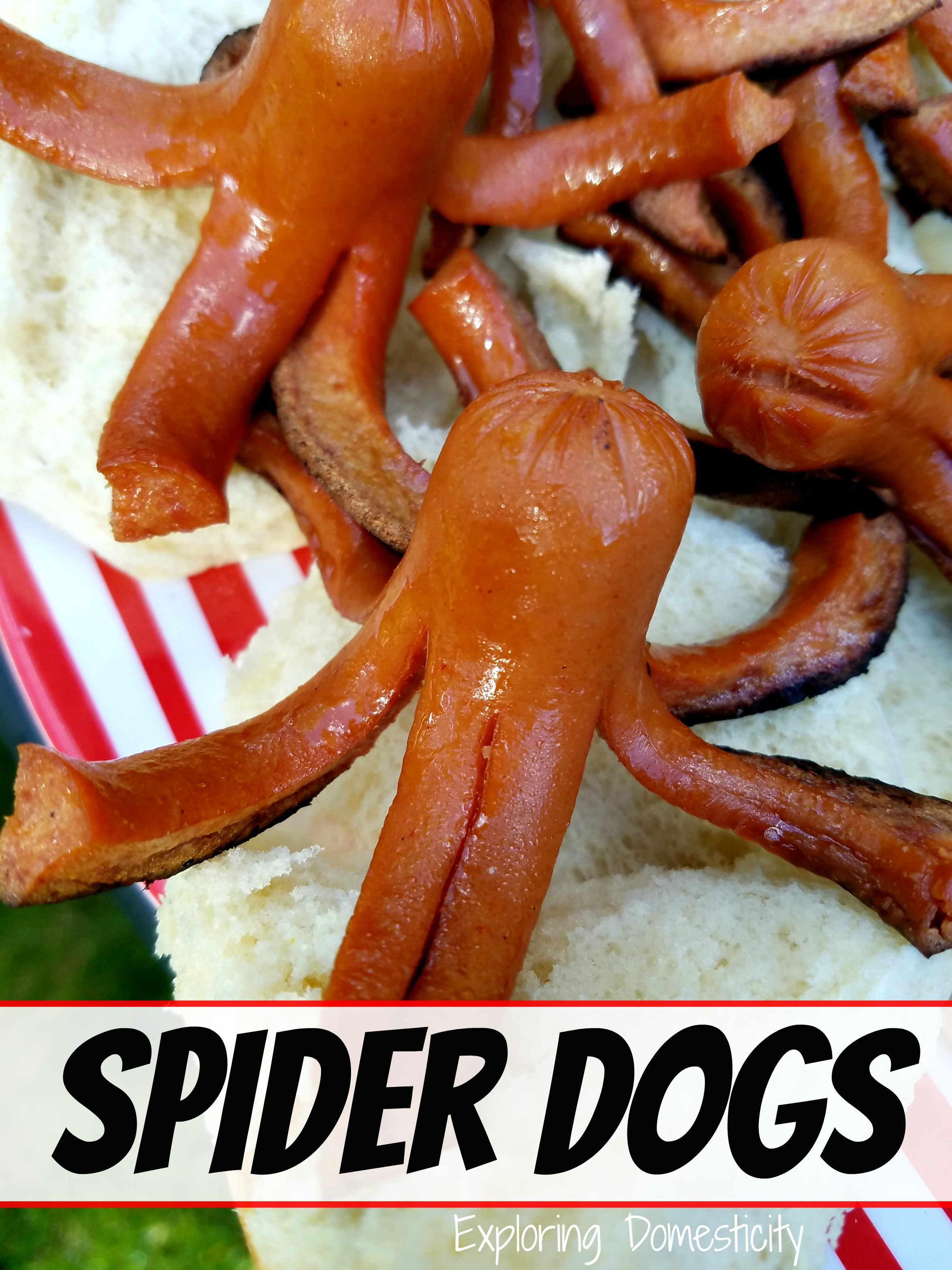 Octopus Hot Dogs On The Grill
